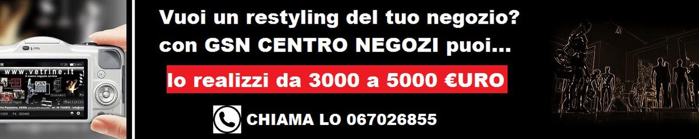 Gsn centro negozi roma arredo e for Negozi arredamento roma centro