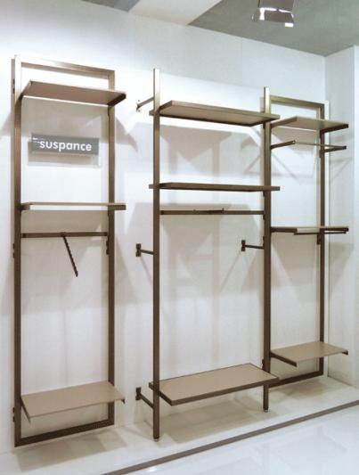 Arredo modulare per negozio abbigliamento suspance for Arredi per negozi abbigliamento