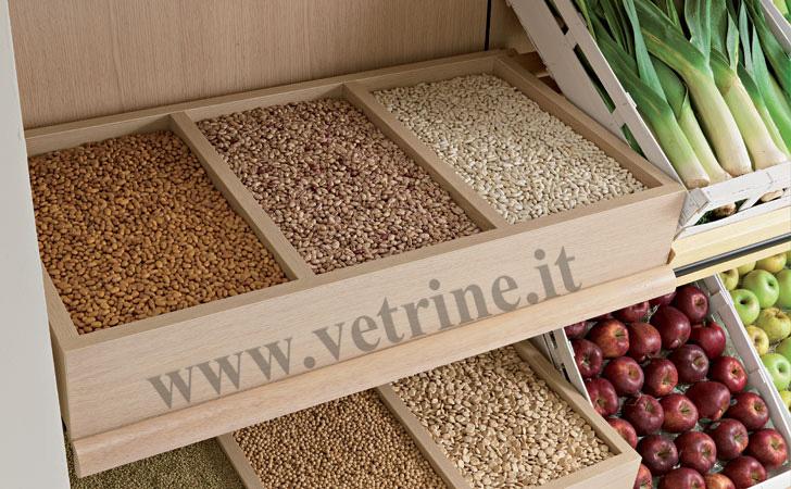 Scaffalature e progettazione supermercati roma arredo for Arredamento ortofrutta
