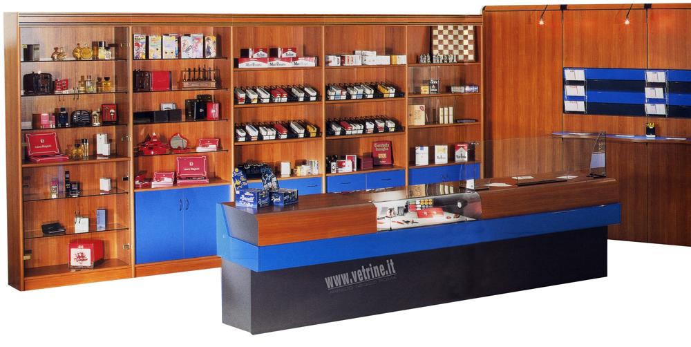 Bancone tabaccheria for Arredamento tabaccheria prezzi