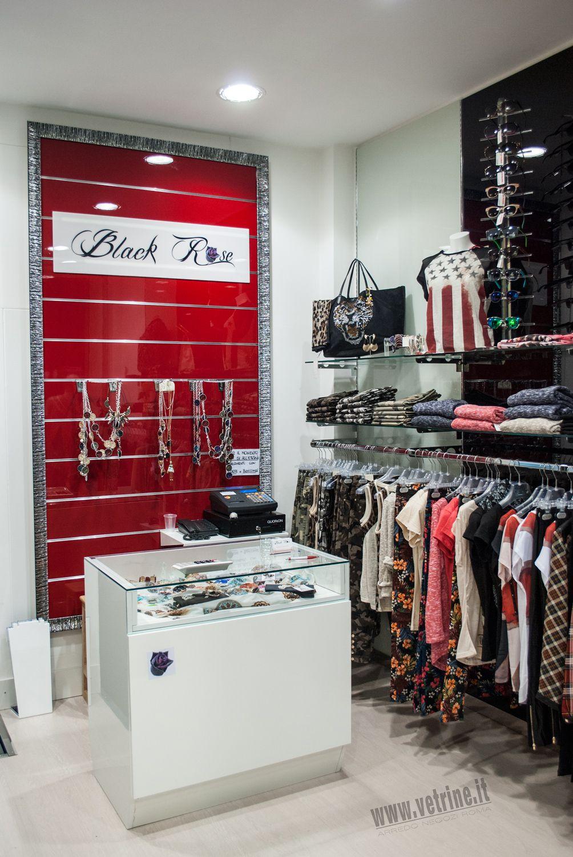 arredo negozio abbigliamento | black rose abbigliamento donna - Arredamento Negozio Abbigliamento Moderno