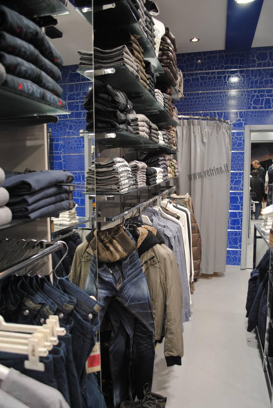 arredamento negozio abbigliamento uomo / donna contromano | made ... - Arredamento Negozio Abbigliamento Roma
