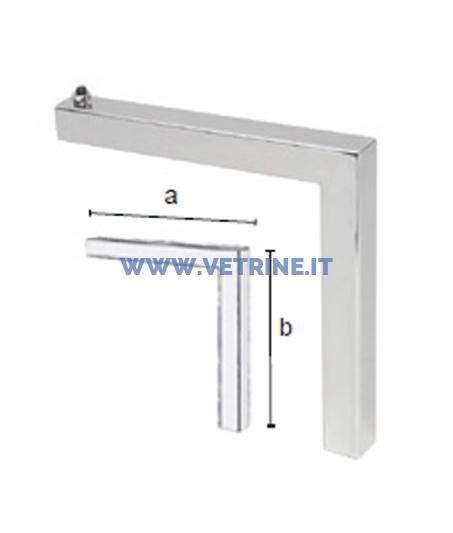 Raccordo verticale 9011 for Raccordo in acciaio verticale